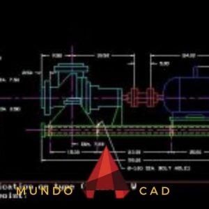 Cómo dibujar una línea de construcción con un ratón en AutoCAD paso a paso