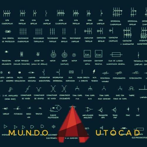 Bloques de AutoCAD para INTERRUPTORES Automáticos GRATIS