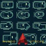 Bloques de PISCINAS para AutoCAD GRATUITOS